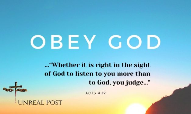 Christians are Commanded to Obey Government Until… Government Opposes God