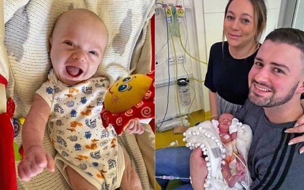"Baby With Heart Defect Defies the Odds After Mom Refuses Abortion: ""We Wanted to Give Him a Chance"""