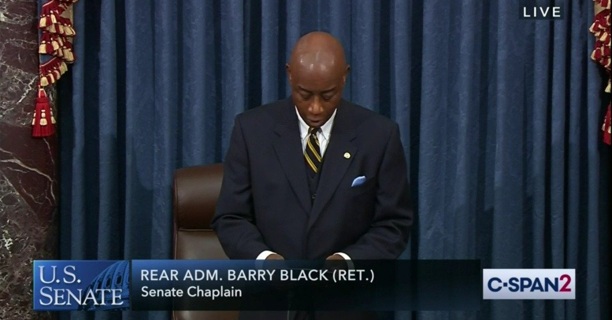 U.S. Senate Chaplain Asks God to 'Inoculate Our Nation against Hate, Sin and Despair'
