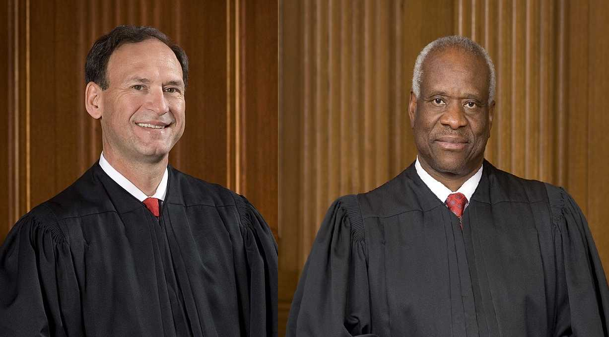 Justices Alito, Thomas Warn 'Preposterous' Ruling Barring Employers From Firing Men in Dresses 'Threat' to Religious Liberty