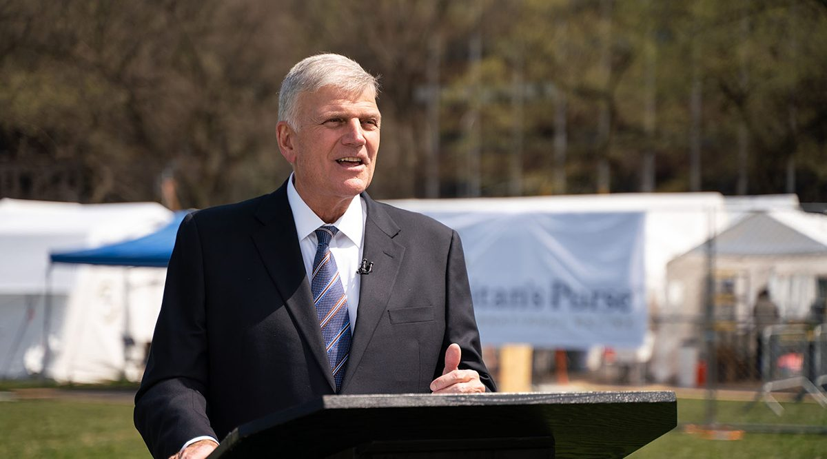 Franklin Graham: Fear the Lord, Not a Pandemic