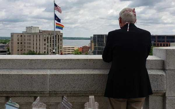 Wisc. Gov. Tony Evers 'Proud' to Have Rainbow Flag Flown at Capitol for 'Pride Month'