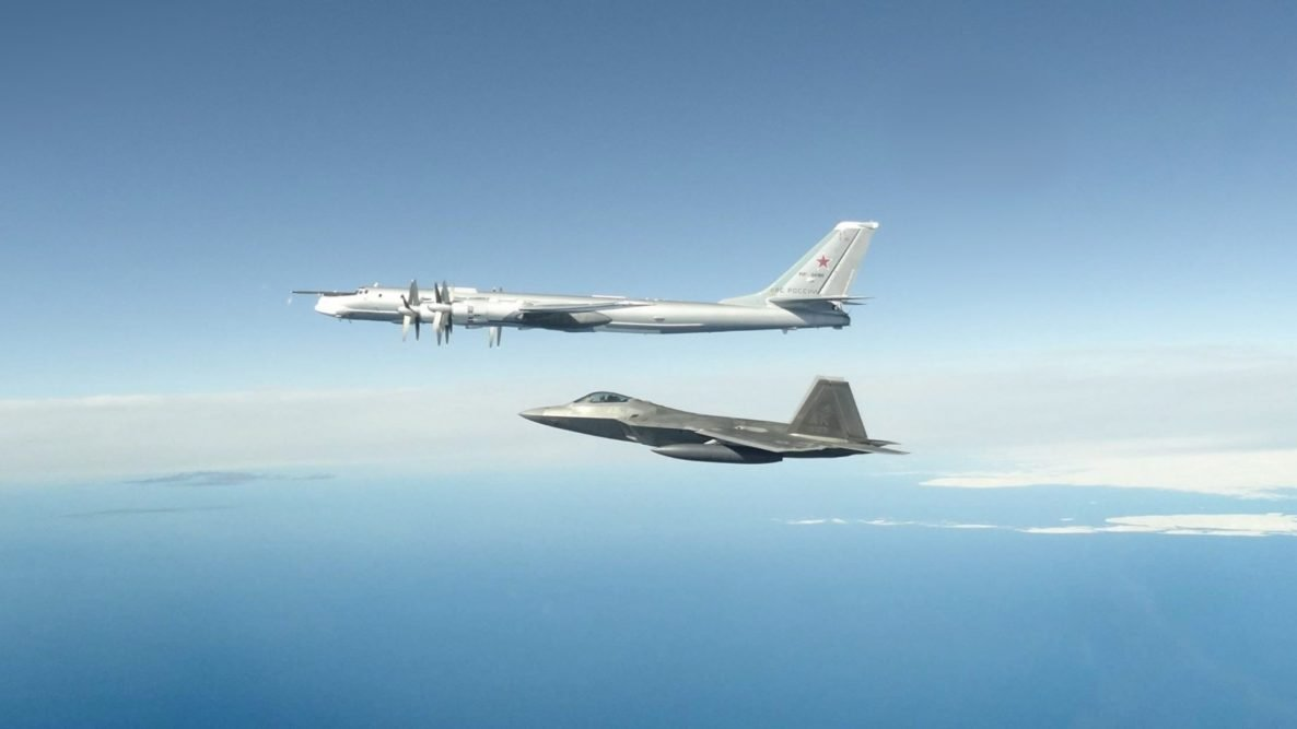 Russian Bombers Intercepted Off Alaska Coast for 2nd Time in a Week