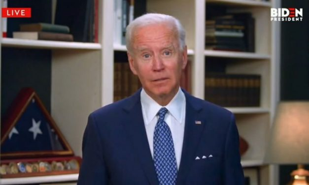 Diminished Joe Biden says he would sign order forcing Americans to wear masks