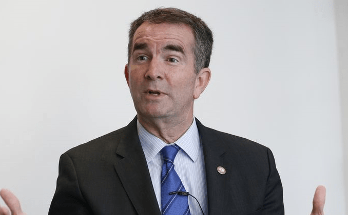 "Governor Ralph Northam Wants to Add a ""Right"" to Kill Babies in Abortions to the Constitution"