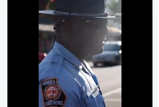 Georgia State Trooper was Asked to Kneel Checkout His Response 'Video'