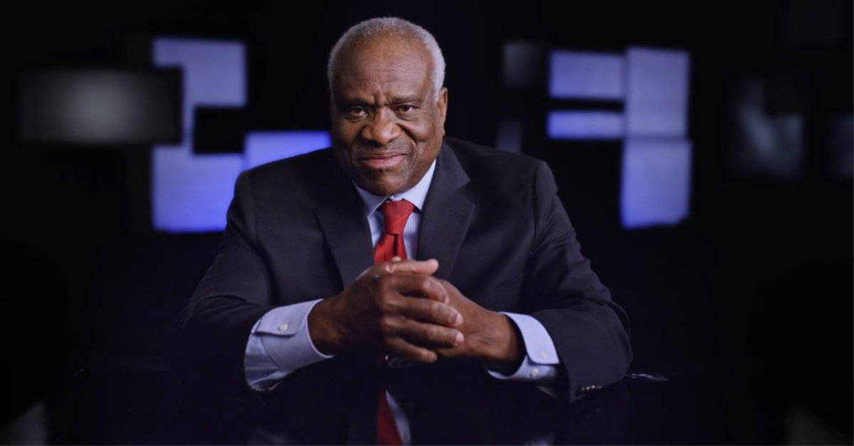 Clarence Thomas: Roe v. Wade Was 'Grievously Wrong' and 'Should Be Overruled'