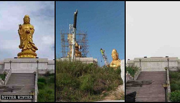 China's Outdoor Buddhist Statues Continue to Tumble