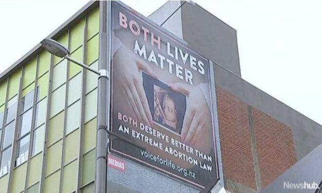 """Black Lives Matter"" Activists Upset at Pro-Life Billboard Saying ""Both Lives Matter"""