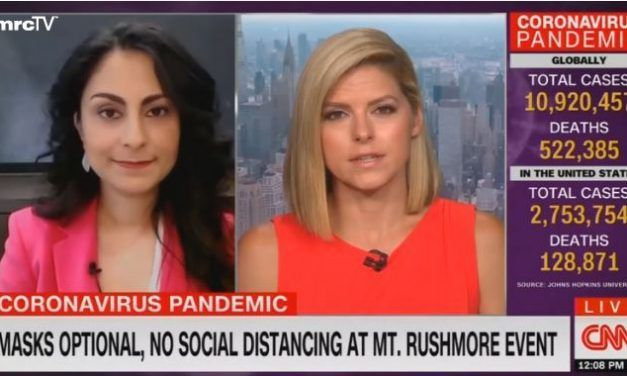 "CNN Blames Coronavirus on President Trump: He's a ""Cult Leader Who is Jumping Off the Cliff"""