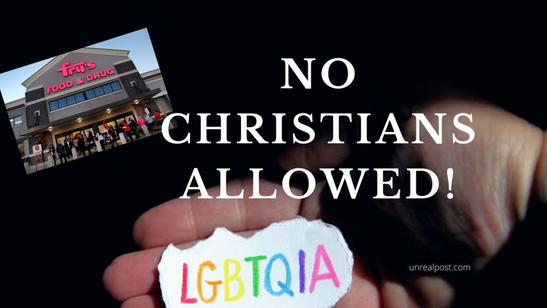 Kroger or Fry's Grocery in Arizona Fires Two Christian Women for Refusing to wear LGBT Button
