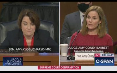 "Amy Coney Barrett: Roe v. Wade is Not a ""Super-Precedent"" That Can't be Overturned"