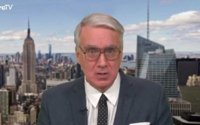 """Unhinged Keith Olbermann Wants Amy Coney Barrett """"Removed From Society"""""""