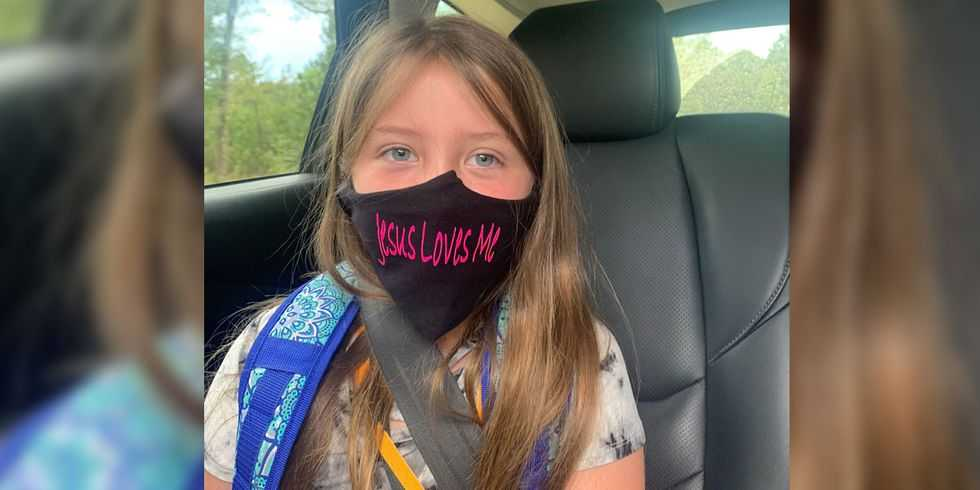 Lawsuit Filed Against Miss. School District After Student Prohibited From Wearing 'Jesus Loves Me' Mask
