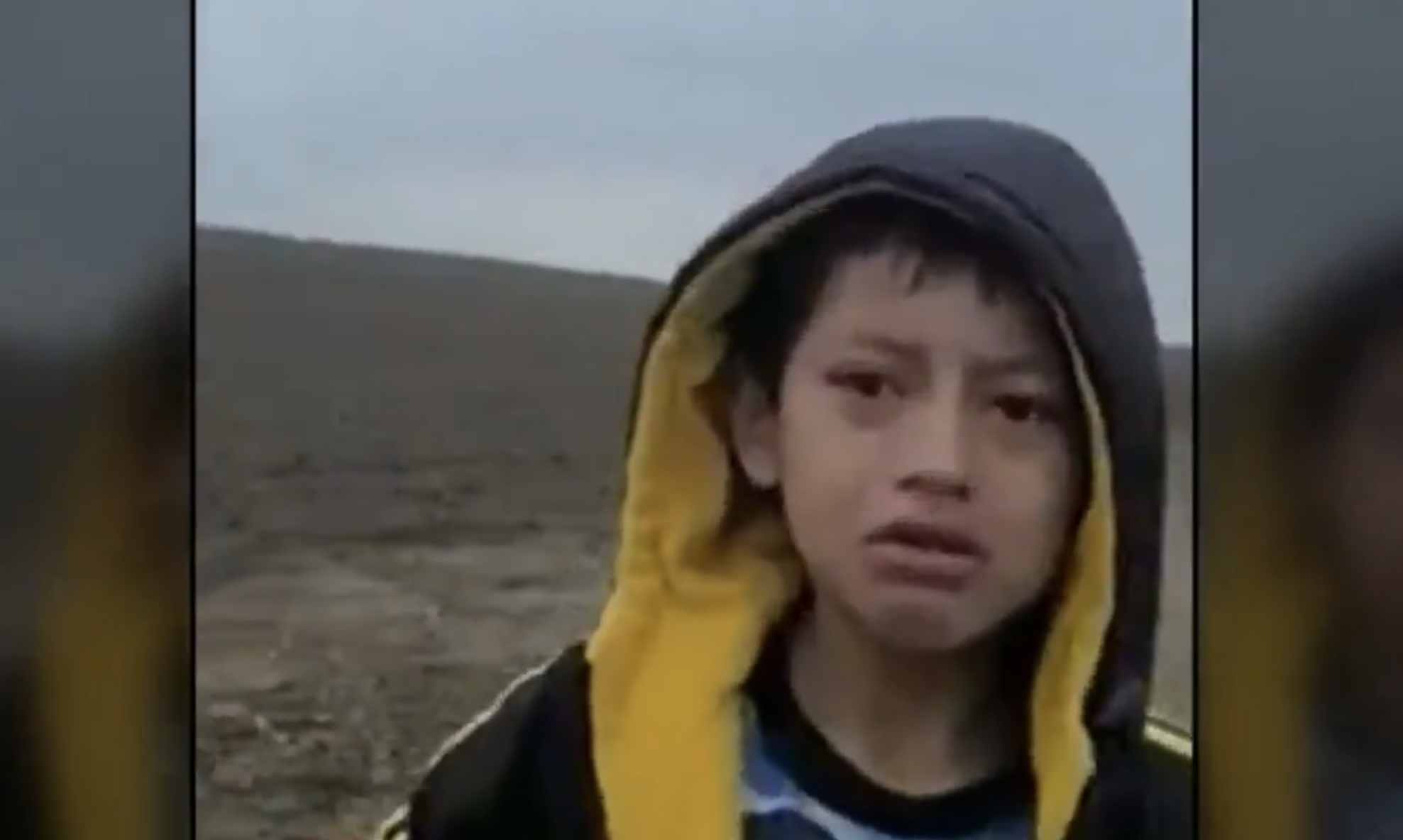 Immigration Agents Capture Heartbreaking Video of Boy Abandoned at Border