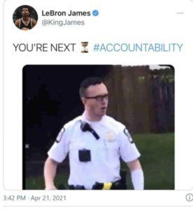 Lebron James Tweet