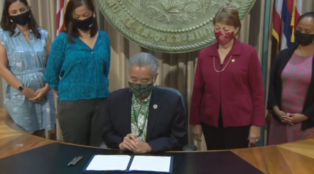 Hawaii's godless Governor David Ige Signs Bill Allowing Nurses to Kill Babies in Abortions