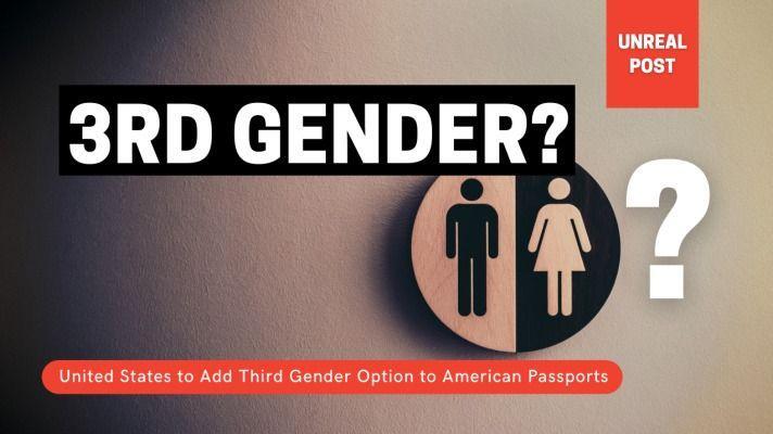 United States to Add Third Gender Option to American Passports