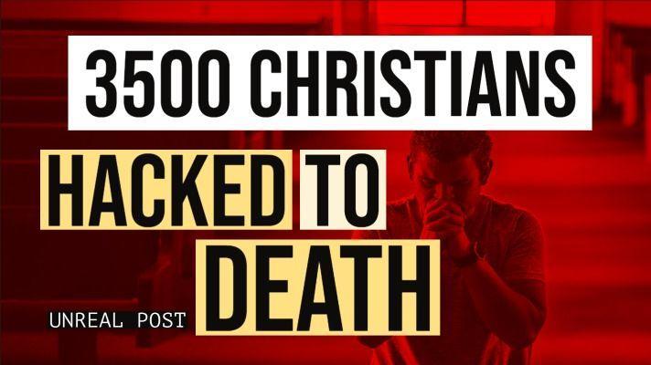 3,462 Christians Hacked To Death By Muslim Jihadists in Nigeria