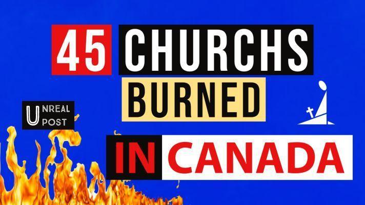 45 Churches Burned in Canada (1)