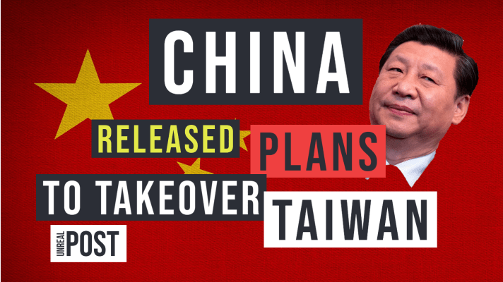 China's Xi Jingping Released 3 Stage Plan to Takeover Taiwan