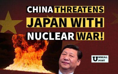 Bloodthirsty China Threatens Japan with Nuclear War – says Japan will Surrender for a Second Time