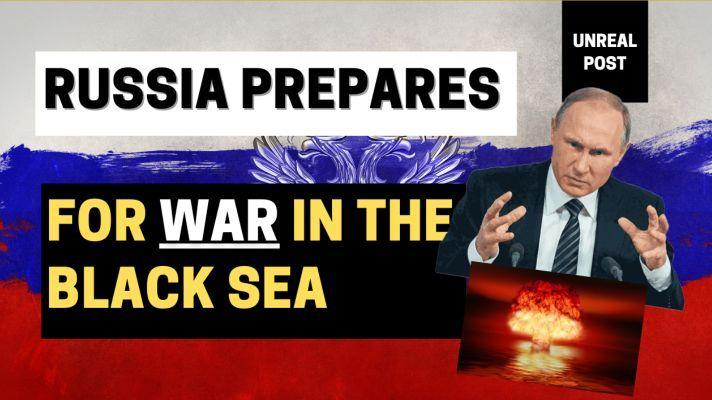 Russia Prepares for War with Live Fire Drills in the Black Sea