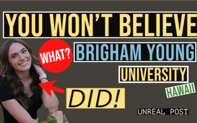 """You Won't Believe What Brigham Young University Hawaii is Doing to Students """"Cruel"""""""