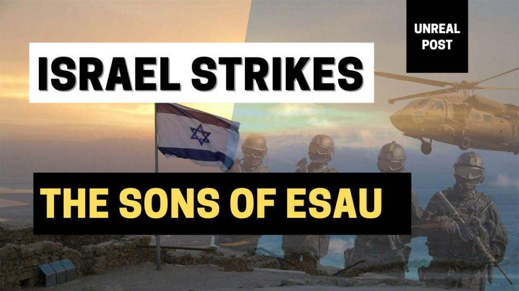 Israel Destroys the Sons of Esau Again and Again this time its 'Hamas'